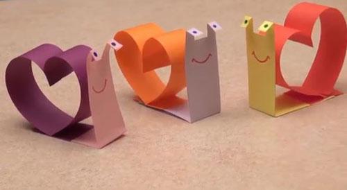 валентинки из бумаги для детей 7-8 лет