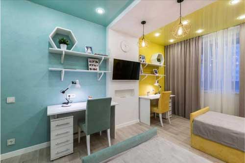 фото комнаты для двух девочек подростков