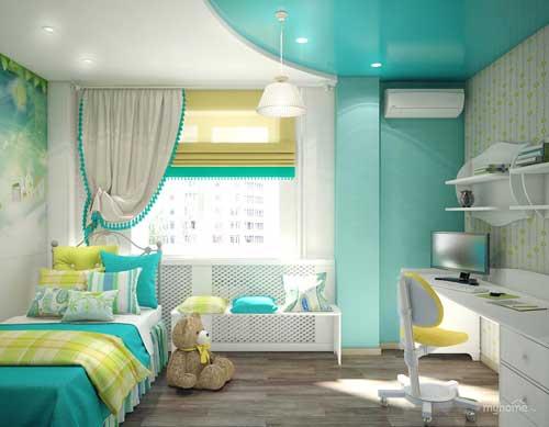 цвета в детской комнате для девочки 6 лет