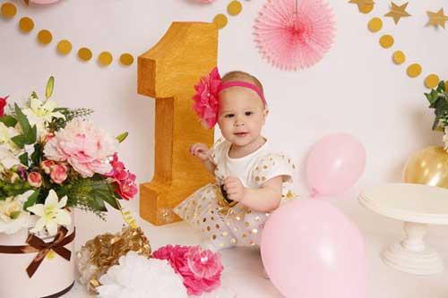 детский день рождения в домашних условиях: на 1 годик для девочки