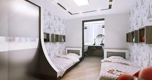 фото комнаты для двух девочек 8