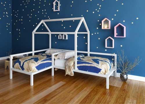 домик в детской для двоих детей 5