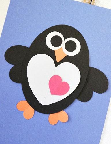 валентинки из бумаги для детей дошкольного возраста
