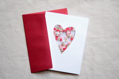 открытка влентинка для детей