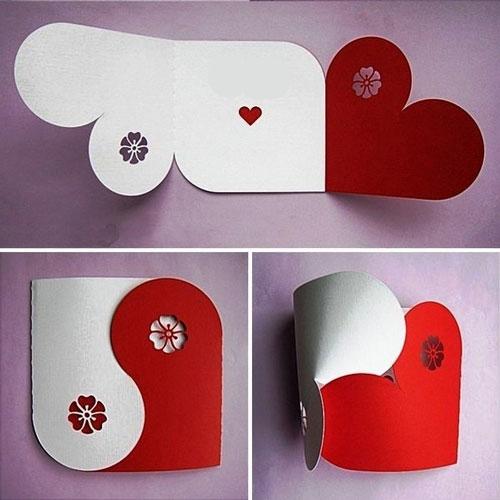 валентинка-конверт 2