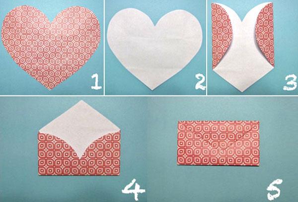 валентинка-конверт