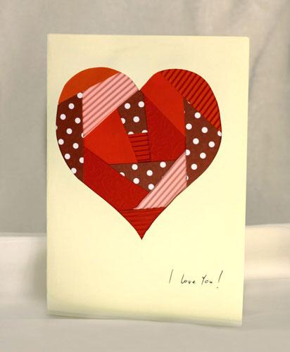 бумажные валентинки для детей 9-10 лет