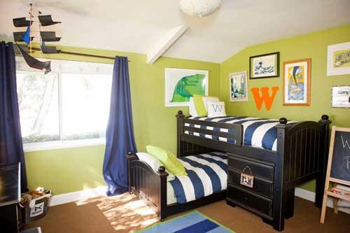 Планировка детской комнаты для двоих детей: лучшие идеи