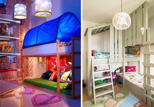домик в детской для двоих детей 6