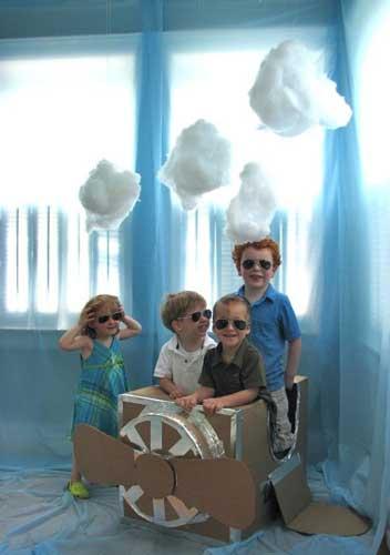 детский день рождения в домашних условиях: фотозона 4