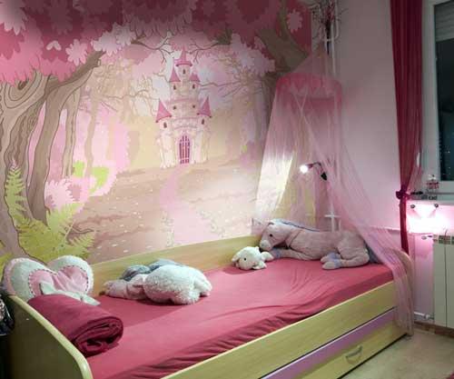 цвета в детской комнате для девочки 3 лет