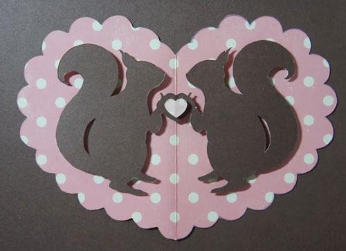валентинки из бумаги для школьников
