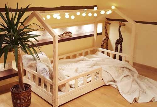 домик в детской для двоих детей 2