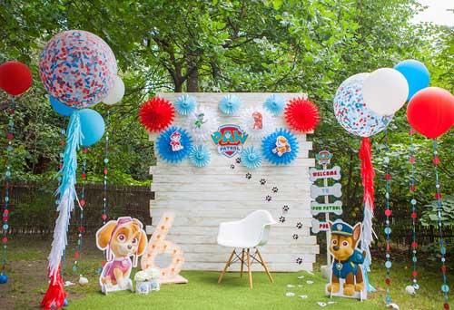 детский день рождения в домашних условиях: фотозона 2