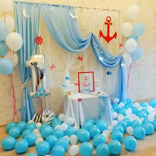 детский день рождения в домашних условиях: фотозона