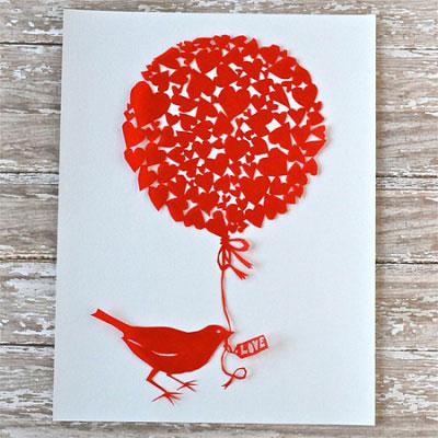бумажные валентинки для детей 8-9 лет