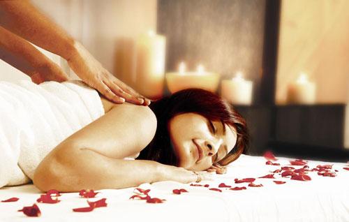 Идеи на день святого Валентина: массаж