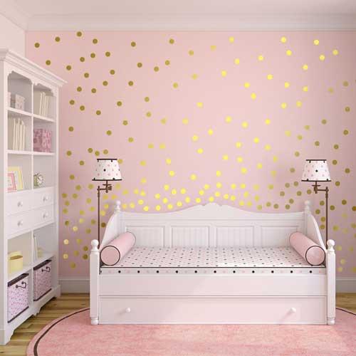 цвета в детской комнате для девочки 4 лет