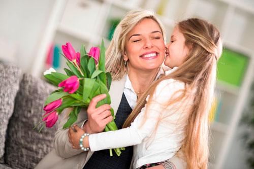Красивые поздравления с 8 марта маме