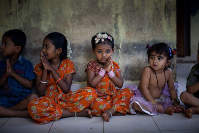 Как воспитывают детей в разных странах: индия