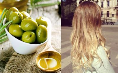 роскошная маска для волос из меда и оливкового масла