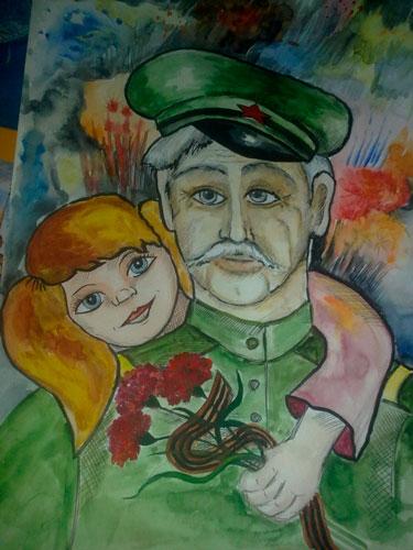 Красивые стихи на 23 февраля дедушке от детей 4-6 лет