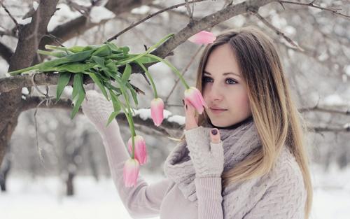 идеи весенней фотосессии для девушек 2