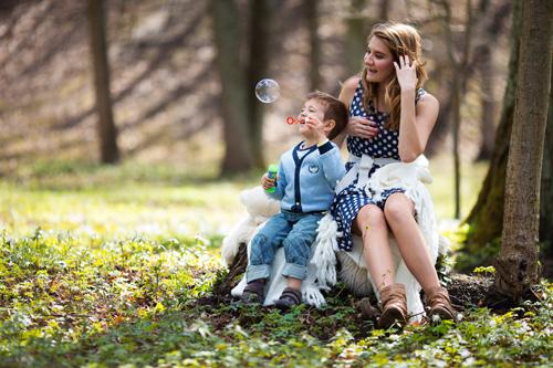 Идеи для фотосессии с детьми: семейные развлечения