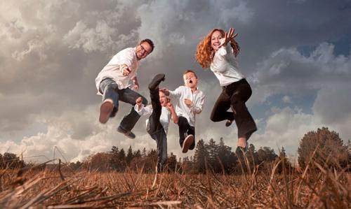 необычные идеи для семейной фотосессии с детьми