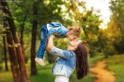 идеи для семейной фотосессии с ребенком 4 лет