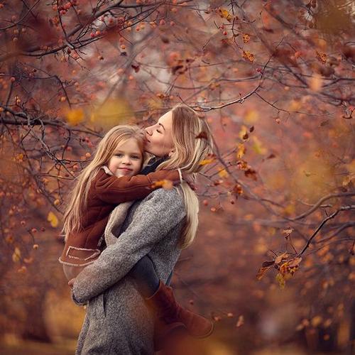 идеи для семейной фотосессии с детьми осенью