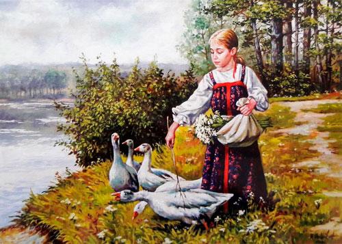Стихи про гуся для детей 9-12 лет