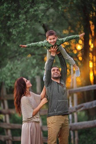 идеи для фото родителей с ребенком