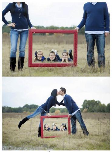 семейная фотосессия с тремя детьми