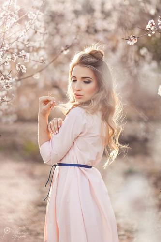 идеи фотосессии весной для девушек 10