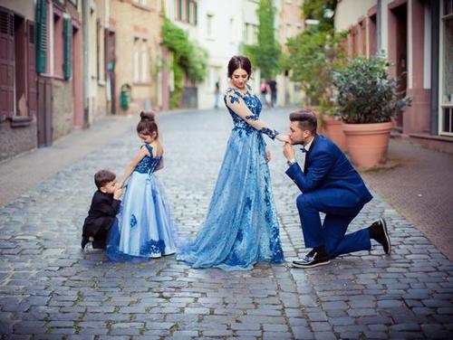 Идеи для фотосессии весной: Family Look 4