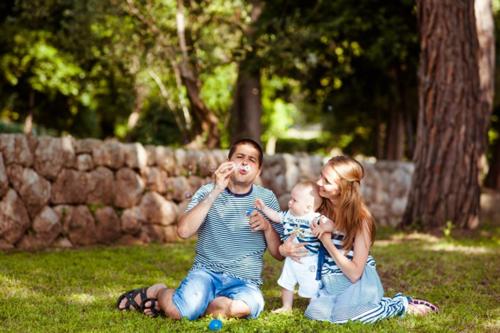 идеи для семейной фотосессии с ребенком 1