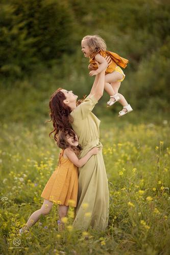 идеи для фотосессии всей семьей весной 4