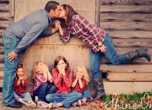 необычные идеи семейной фотосессии с детьми на природе