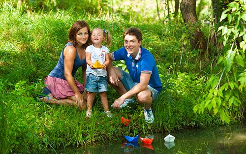 лучшие идеи семейной фотосессии с детьми: кораблики