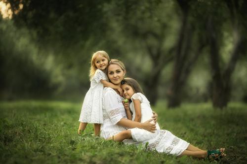 семейная фотосессия с детьми в парке: лучшие идеи 3