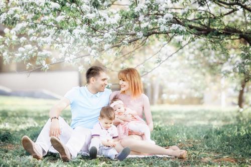 семейная фотосессия с детьми в парке: лучшие идеи 2