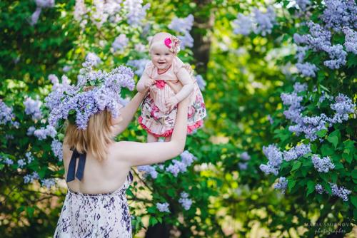 идеи для фотосессии всей семьей весной 5