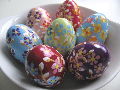 Красим яйца на Пасху: оригинальные идеи для детей 3