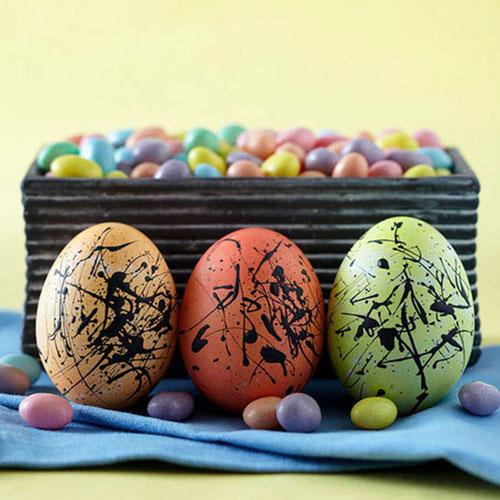 Красим яйца на Пасху: оригинальные идеи для детей 2