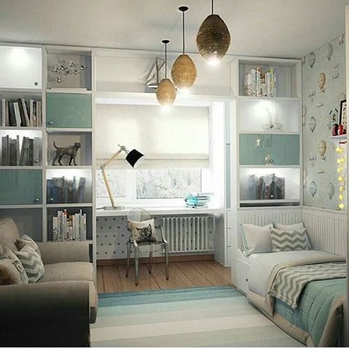 комната для мальчика 10 лет в классическом стиле