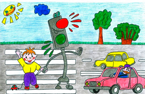 Загадки про цвета светофора для детей 5-7 лет