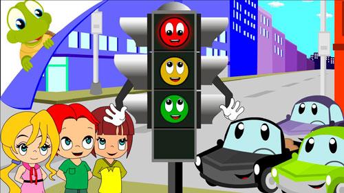 Загадки про цвета светофора для школьников