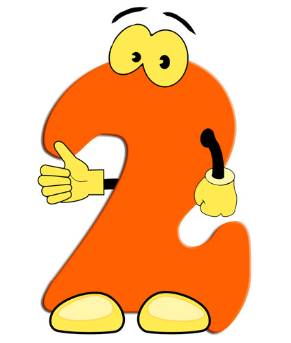 Стихи про цифры для детей цифра 2