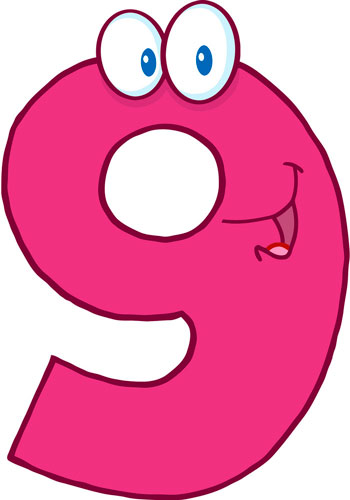 Стихи про цифры для детей цифра 9
